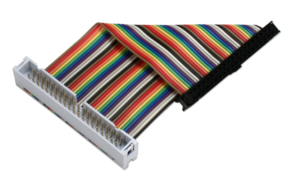 GPIO 4-Inch Ribbon Extension Cable for Raspberry Pi A-Plus/B-Plus/Pi 2/Pi Zero with 40pins - ARGPX-04