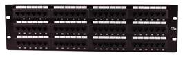 72Port CAT5/RJ45 110Block Patch Panel C5PNL-72 037229715033