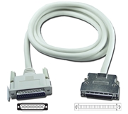 10ft SCSI HPDB50 (MicroD50) Male to DB25 Male Premium External Cable CC534D-10 037229634105 Cable, PC/Mac to SCSI II, Premium, DB25M/HPDB50M, 19 Twisted Pair, 10ft (Adaptec Model 200) 136796  CC534D10 CC534D-10  cables feet foot   2856  microcenter  Discontinued