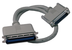 1.5ft SCSI DB25 Male to Cen50 Male External Cable CC535-01.5