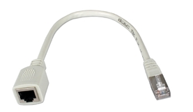 1ft 350MHz CAT5e Ethernet/Telco PortSaver Shielded Gray Patch Cord CC712MF-01 037229712469 Cable, PortSaver Series/Dongle, CAT5E RJ45 Category 5 Enhanced Stranded, LAN Patch Extension Cord, Gray, RJ45 M/F, 1ft 128132 RC3846 CC712MF01 CC712MF-01  cables feet foot   3088 IMCE microcenter Edward Matthews Approved