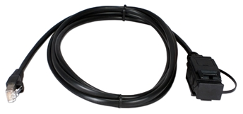 8ft IBM Token Ring to 10/100BaseT Ethernet Adaptor Cable CTRC5-08 037229375015 Cable, Token Ring Adaptor Cable, 10/100BaseT to Token Ring, Up to 50M, RJ45/Data Connector M/M (Without Balun), 8ft CTRC508 CTRC5-08 adapters adaptors cables feet foot   3268