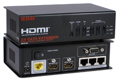 HDMI 3D HDBaseT 5-Play with IR/Serial/Ethernet Single CAT6 100-Meter Active Extender HD4-C6E 037229007961 HDMI v1.4a 4-in-1 with 3D, HDBaseT Built-in Gigabit Ethernet Switch, IR & RS232 100-Meters Extender Kit CN-HDCX-01-SR_SK  GE5264 HD4C6E HD4-C6E    meters  1978 IMCE
