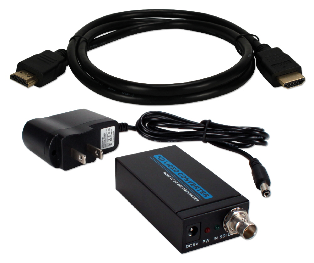 HDMI 1080p to 3G/HD/SD-SDI Converter Kit - HDSDI