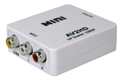 Composite Audio & Video to Digital HDMI Up-Converter HRCA-AS 037229488609
