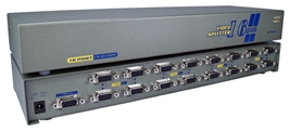 400MHz 16Port VGA Video Splitter/Distribution Amplifier MSV616P4 037229006230 Video Signal Splitter/Multiplier/DA/Distribution Amplifier with Built-in Booster, Up to 16 Video, 400MHz, Supports VGA/SVGA/XGA/Multisync/DDC and up to 2760x1600 Resolution, HD15 Connectors MSV616P4 MSV616P4      3646