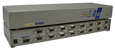 250MHz 16Port VGA Video Splitter/Distribution Amplifier MSV616PH 037229006223 Video Signal Splitter/Multiplier/DA/Distribution Amplifier with Built-in Booster, Up to 16 Video, 250MHz, Supports VGA/SVGA/XGA/Multisync and Up to 1600 x 1200 Resolutions, HD15 Connectors VS-8116   MSV616PH MSV616PH      3647