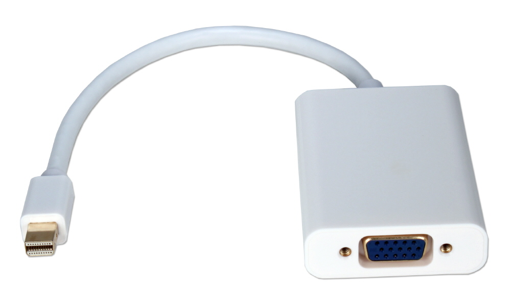 Mini DisplayPort/Thunderbolt to VGA with Audio Digital Video Adaptor for Surface Pro Tablets - STVGA-MFA