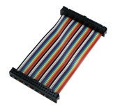 GPIO 4-Inch Ribbon Cable for Raspberry Pi Zero/Zero W/A+/B+/Pi 2/Pi 3 with 40pins ARGPF-04 037229003802