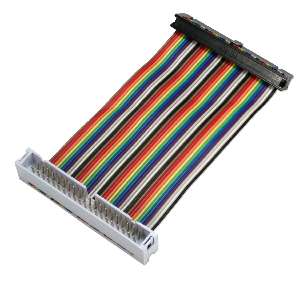 GPIO 4-Inch Ribbon Extension Cable for Raspberry Pi Zero/Zero W/A+/B+/Pi 2/Pi 3 with 40pins - ARGPX-04