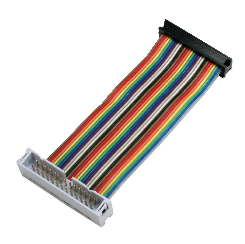 GPIO 4-Inch Ribbon Extension Cable for Raspberry Pi A/B with 26pins - ARGPX26-04