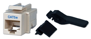 350MHz CAT5e Toolfree Beige RJ45 Keystone Jack C5JACKAE 037229715385 Category 5e - C5 Basic Wall Plate Assemblies, Keystone Jack with ToolFree Base, Beige, RJ45, Enhanced KJ7-CE-US/INV 542274  C5JACKAE C5JACKAE      2189  microcenter Michael Weiler Discontinued