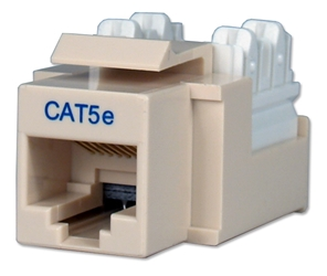 350MHz CAT5e 110Block Beige RJ45 Keystone Jack C5JACKBE 037229715170 Category 5e - C5 Basic Wall Plate Assemblies, Keystone Jack, 110 Base, RJ45 Enhanced C5JACKBWE  KJ3-CE-USINVA 168963  C5JACKBE C5JACKBE      2191  microcenter Michael Weiler Discontinued