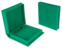 3.5 Inches Green Disk Library Case CA634GRL 037229316261