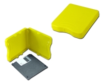 "3.5 Inches Yellow Disk Library Case CA634YW 037229316292 Disk Library Case - 3?"", Holds Up to 5 Disk, Yellow CA634YW CA634YW      2263"