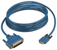10ft SmartSerial to DTE DB25 RS232 Serial Cisco Router Cable CABSS232MT 037229332223 Cable, Cisco Router, Smart Serial NP26M to RS232 DB25M, Serial DTE, 10ft CABSS232MT CABSS232MT  cables feet foot   2276