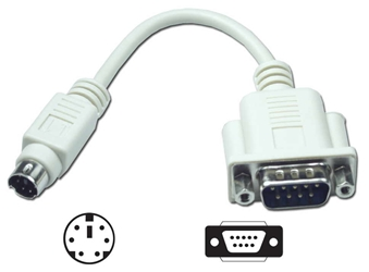 "6 Inches DB9 Male to Mini6 Male for MS Serial Mouse to PS/2 Port CC2009AC 037229320091 Adaptor, Mouse, DB9M/Mini6M, MS AT/PS2 with 6"" Cable 157842  CC2009AC CC2009AC adapters adaptors cables    2364  microcenter  Discontinued"