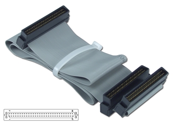 "20 Inches UltraSCSI HPDB68 (MicroD68) Single Drive Ribbon Cable plus a Terminator Connector CC2206-1T 037229223002 Cable, SCSI III/UltraSCSI (SCSI V) Internal Ribbon with Extra Connector for Terminator, Single Device, (3) HPDB68M, 20"" 656900  CC22061T CC2206-1T  cables    2428  microcenter Eshelman Discontinued"