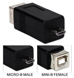 USB Type-B Female to Micro-B Male High Speed Adaptor CC2218C-MF 037229229936 Adaptor, Micro-USB 2.0 OTG High-Speed for Cellphone, MP3, PDA and GPS, USB B Female/Micro-B Male 42598 NZ3383 CC2218CMF CC2218C-MF adapters adaptors     2504 IMCE microcenter Edward Matthews Approved