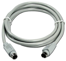 6ft Mini3 Male to Male Appletalk Cable CC530-06 037229530063