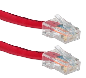 50ft 350MHz CAT5e Flexible Red Patch Cord CC712E-50RD 037229716528 Cable, CAT5E Ethernet RJ45 Category 5E 350MHz Flexible/Stranded, Network Hub/DSL/CableModem/LAN Patch Cord, Assembled, Red, 50ft CC712E50RD CC712E-050RD  cables feet foot   3063  microcenter  Rejected