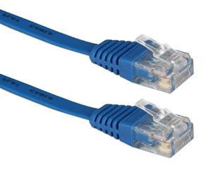 50ft Flat CAT6 Gigabit Flexible Molded Blue Patch Cord CC715F-50BL 037229713961 Cable, Flat CAT6 Gigabit RJ45 Category 6 Stranded, LAN Patch Cord with Snagless/Molded Boots, Blue, 50ft 422014  CC715F50BL CC715F-50BL  cables feet foot   3172  microcenter  Discontinued