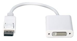 DisplayPort Male to DVI Female Digital Video Adaptor DPDVI-MFW Adaptor, DisplayPort v1.1 Compliant, Convert DisplayPort Video to DVI-D with DHCP DPDVIMF DPDVI-MFW adapters adaptors IMCE microcenter Edward Matthews Approved
