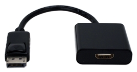 DisplayPort Male to HDMI Female Digital A/V Adaptor DPHD-MF 037229004854 Adaptor, DisplayPort v1.1 Compliant, Convert DisplayPort Audio/Video to HDMI with DHCP 781484 KV6442 DPHDMF DPHD-MF adapters adaptors     3286 IMCE microcenter Edward Matthews Approved