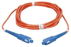 1-Meter SC to SC Multimode Fiber Simplex Patch Cord F2SC-1M 037229487039