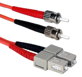 2-Meter ST to SC Multimode Fiber Duplex Patch Cord FDSTSC-2M 037229487459 Fiber Optics Multimode Duplex Patch Cord, ST to SC, 2M (6.56ft) 13-AHM1A07-2M 509646 RC3282 FDSTSC2M FDSTSC-02M   feet foot   3390 IMCE microcenter Edward Matthews Approved