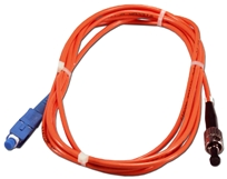 3-Meter ST to SC Multimode Fiber Simplex Patch Cord FSTSC-3M 037229487084