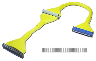 "24 Inches IDE ATA/133 Dual Drives Yellow Round Internal Cable IDEU-2BYW 037229111170 Cable, Premium Ultra IDE/EIDE/PATA ATA33/66/100/133 Round Internal w/80 Wires, 2 Drives, Yellow, 24"" IDEU2BYW IDEU-2BYW  cables    3555  microcenter Cox Rejected"