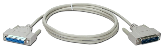 10ft DB25 Male to Female Serial Modem Cable MC311-10M 037229411119 Cable, External Modem to PC with DB25 Serial RS232 Port, DB25M/F, 10ft 133397  MC31110M MC311-10M  cables feet foot   3584  microcenter  Discontinued