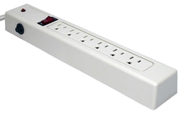 6-Outlets Surge Protector with 6ft Cord MC855 037229 Surge Strip, 6 Outlets, 3 Mov, Plastic MC855 MC855      3585