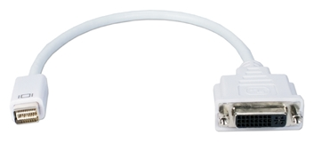 Mini-DVI Male to DVI-D Female Digital Video Adaptor MDVID-MF 037229007688 Adaptor, Apple PowerBook/MacBook Mini-DVI to DVI-D digital video converter, M/F 530469 KV6441 MDVIDMF MDVID-MF adapters adaptors     3601 IMCE microcenter David Chesrown Approved