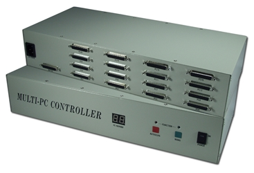 PS/2 & PC/AT 16Port KVM Multimedia Autoswitch with OSD MKR1601D 037229541052