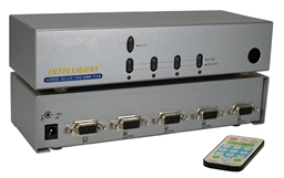 4x1 250MHz 4Port VGA Video Share Switch with Remote Control MSV104RC 037229006322 Video Selector with Built-in Booster and Remote Control, Up to 4 Video, 250MHz Supports VGA/SVGA/Multisync and up to 1920x1440, HD15 VRM-714 81588 TB7322 MSV104RC MSV104RC   3625
