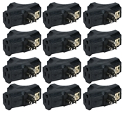 12-Pack 3-Outlets Space-Saver Grounded Power Outlet Splitter PA-3P-12PK 037229231175