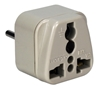 Single-Port US to Italy Grounded Travel Power Adaptor PA-IT 037229334791 US to Italy Grounded Power Plug Adapter