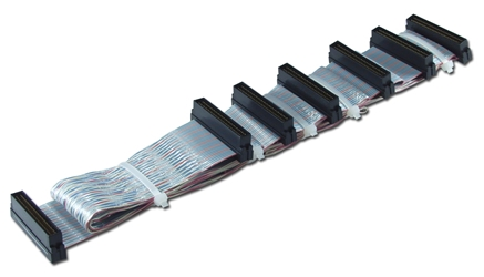 69 Inches Ultra320SCSI LVD Six Drives TPO Twisted Pairs Ribbon Cable SCU160-6 037229110661