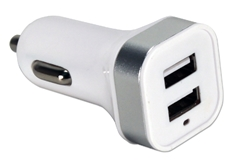 2-Port 3.4Amp USB Smart Car Charger for Smartphones and Tablets USBCC-2PS 037229334609 3.1Amp Dual-Port White Car Charger for Smartphone and Tablets including iPod/iPhone/iPad R-136 6130 TW9310 USBCC2PS USBCC-2PS      3887 IMCE microcenter Nick Sciarini Approved