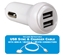 2-Port 2.4Amp USB Car Charger Kit with 3-in-1 Sync/Charger Cable - USBCC-K3
