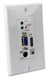 300-Meter VGA/UXGA with Audio Single CAT5e/6 Wallplate Receiver VA-EXR-WP 037229007480 VGA/WUXGA Audio/Video 300-Meters VA-EXK Multi-Port CAT5e/6/RJ45 Expansion/Extender Kit, RX Wallplate Module A-1302WP  TB7321 VAEXRWP VA-EXR-WP    meters  1985 IMCE