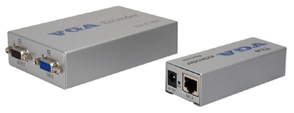 300-Meter VGA/QXGA CAT5/RJ45 Extender Kit with Local Port VGA-C5EP2 037229006735 VGA/SXGA CAT5e Extender Kit with local port, Signal Repeater, Up to 300 meters & 1280x1024 resolution, HD15F/RJ45F VGA-E+ PRO   VGAC5EP2 VGA-C5EP2    meters  3911