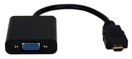 Micro-HDMI to VGA Video Converter XHDVD-MF 037229001266