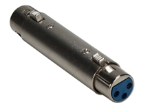 XLR Female to Female Audio Coupler XLR-FF 037229402513